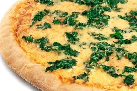 Пицца шпинатная