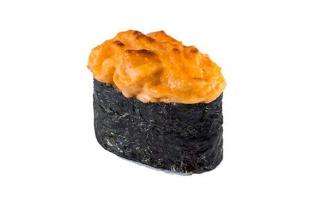 Суши Запеченная сырная креветка