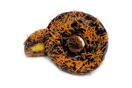 Пончик Оранж апельсиновый