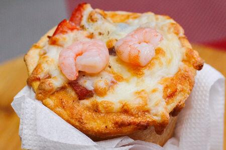 Пицца в конусе Филадельфия