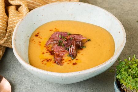 Гороховый суп с копченостям
