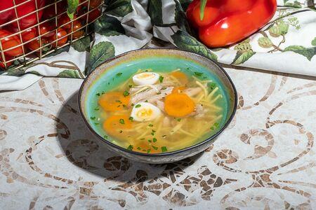 Суп с цыплёнком