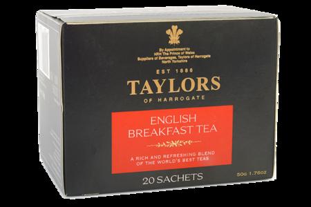 Чай черный Taylors of Harrogate Английский завтрак, 20*2.5 г