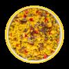 Фото к позиции меню Пилав с перцем, грибами и орехами кешью