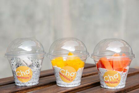 Десерт Чия с манго