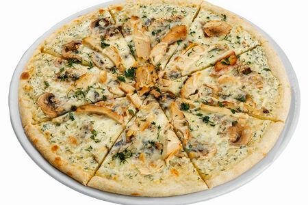 Пицца с цыплёнком и грибами