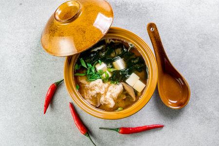 Суп Мисо Кимчи