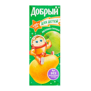 «Добрый» с яблоком для детей