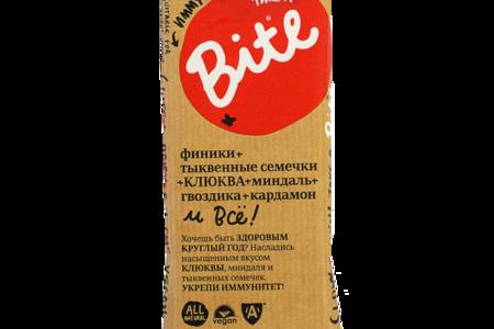 Батончик Bite Иммунитет Клюква-тыквенные семечки