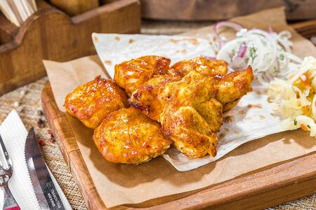 Шашлык из филе цыпленка