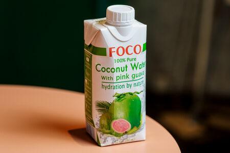 Кокосовая вода Foco Гуава