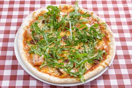 Пицца Ди марэ с морепродуктами