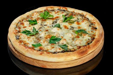 Пицца Куриный жульен малая