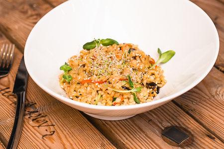 Салат с ростбифом и грибами