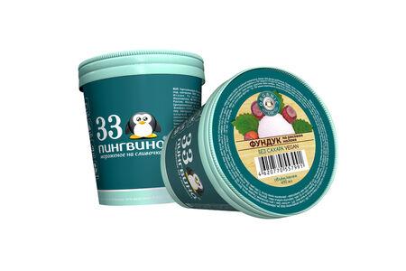 Веганское мороженое Фундук