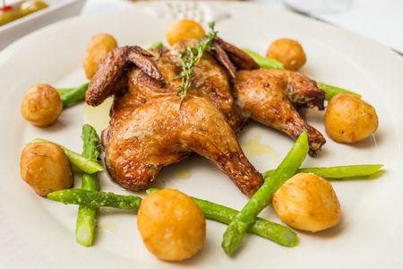 Цыпленок Пиканте, запеченный по старинному рецепту провинции Тоскана
