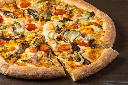 Пицца Супер чизбургер