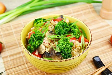 Тепаньяки рис с овощами