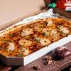 Фото к позиции меню Пицца Курица-ананас полуметровая