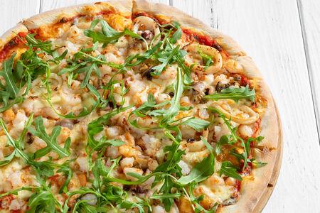 Пицца Де маре с морепродуктами