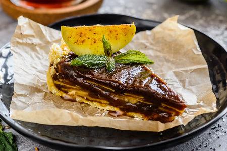 Десерт Яблочный пирог