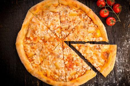Пицца Курочка малибу