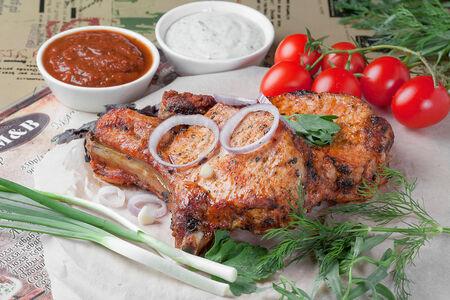 Шашлык из свинины корейка