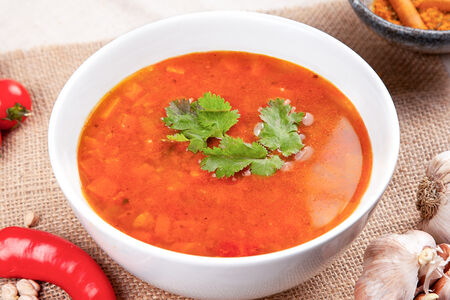 Суп Харира с бараниной
