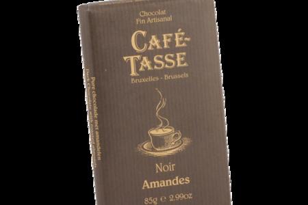 Шоколад Cafe Tasse тёмный с корицей