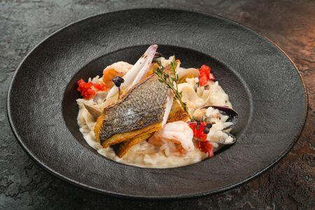 Ризотто с морепродуктами