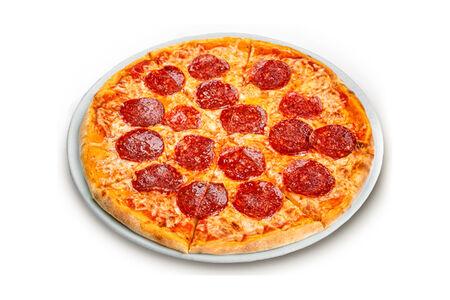 Пицца с колбасками Пепперони