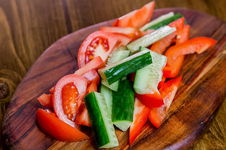 Салат Ассорти овощей
