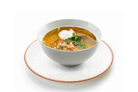 Суп Рассольник с говядиной