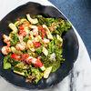 Фото к позиции меню Салат с креветками и авокадо