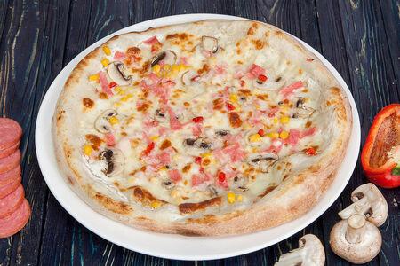 Пицца с белым соусом