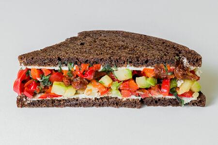 Веганский Сэндвич капоната