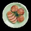Фото к позиции меню Котлеты из говядины жареные