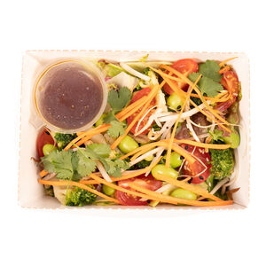Салат азиатский булгур-эдамаме «Хлеб насущный»