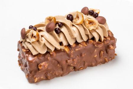 Шоколадно-ореховый десерт
