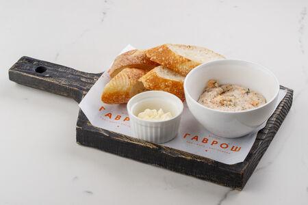 Паштет из норвежского лосося со сливочным сыром