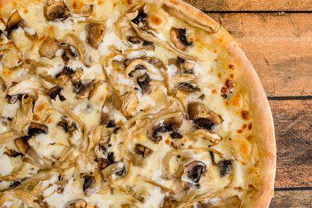 Пицца Грибной жюльен