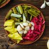 Фото к позиции меню Мини-тарелка с соленьями