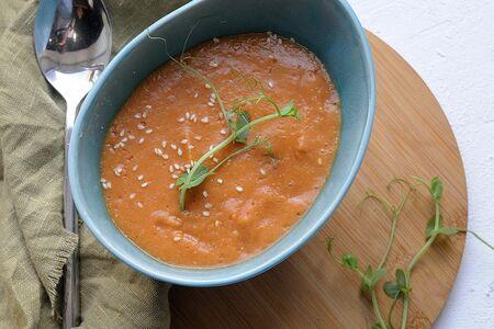 Суп чечевично-томатный