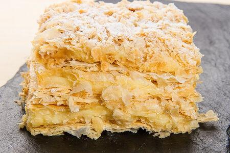 Нежное пирожное Наполеон