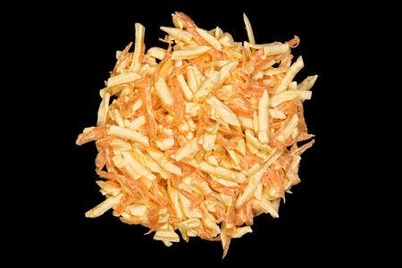 Салат Сырный с морковью
