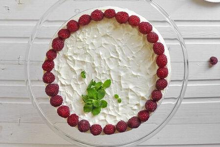 Сырный пирог-чизкейк Клубника и мята