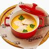 Фото к позиции меню Сырный суп-пюре