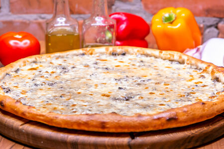 Пицца Жульен с курицей