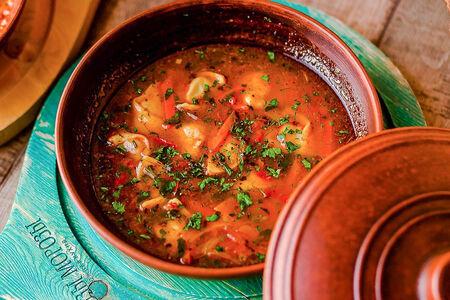 Суп с чучварой
