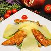 Фото к позиции меню Салат Цезарь с курицей